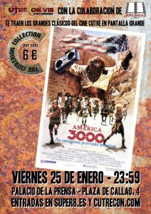 "CUTRERION COLLECTION: ""America 3000"" @ Palacio de la Prensa"