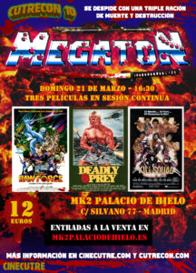 "Maratón ""Megatón"" con ""Raw Force"" + ""Deadly Prey"" + ""Kill Squad"" @ Palacio de Hielo"